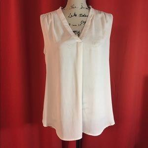 Violet & Claire cream top. Size M